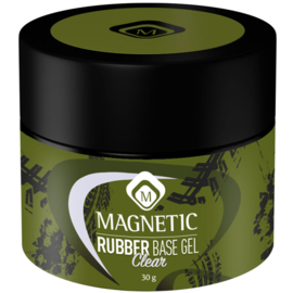 Magnetic Rubber Clear 30 ml in pot.  104500