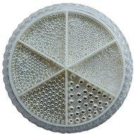 Urban Wheel Caviar Beads Sterling Silver
