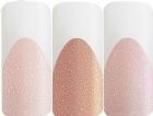 Acryl Sparkling nudes 3 camouflage tinten met een chique glitterglans silver-gold-pink 15 g