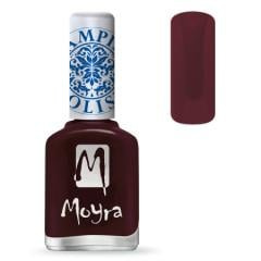 Moyra Stamping Nail Polish Burgundy Red sp03