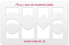 Moyra Shape Card no.05