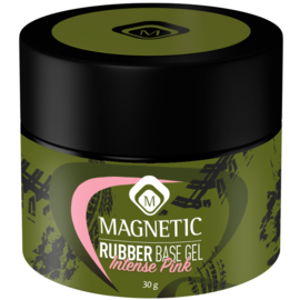 Magnetic Rubber Base Intense Pink 30 ml in pot. 104501