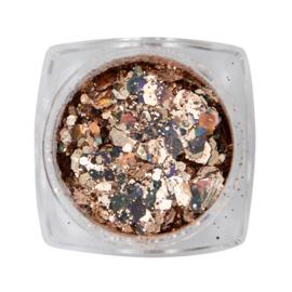 Magnetic Metal inlay Rose Gold 118930