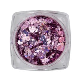 Magnetic Metal inlay Purple 118933