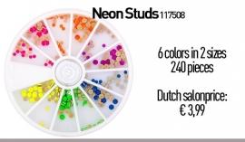 Neon Studs 240 pcs