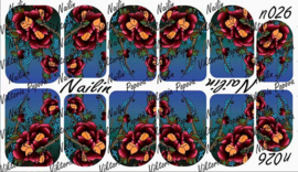 Nail-art Wrap 026