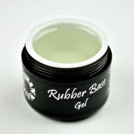 Rubber Base Gel Clear in een pot 30 gram!