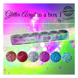 Glitter Acryl poeder