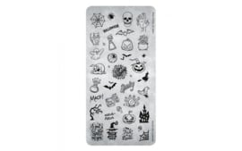 Magnetic Stamping Plate -Trick or Treat  118644 Card 41