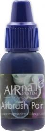 Airbrush verf blauw 10 ml num 4