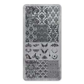 Magnetic Stamping Plate Baroque 118603  Card 4