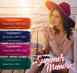 Gelpolish set met 4 prachtige Kleuren Summer Memories. 71-74-75-91