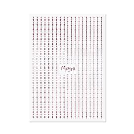 Moyra Nail Art Strips Dots No. 03 Rose Gold
