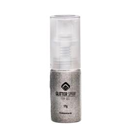 Glitter Spray White Gold  118090