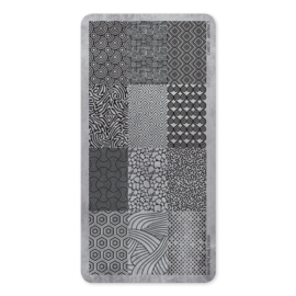 Magnetic   Stempel platen  Abstract 118600 Card 01
