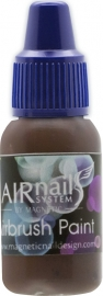 Airbrush verf Dark Brown 10 ml num 12