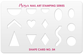 Moyra Shape Card no.04