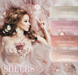 Gelpolish Sheers Seduction Collection 4 Transparante kleuren.