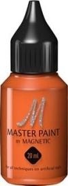Magnetic Master Nailart Paint Orange  123604