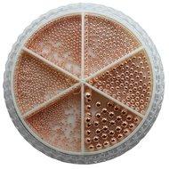 Urban Wheel Caviar Beads Sterling Rose Gold