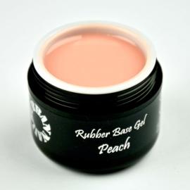 Rubber Base Gel Peach in een pot 30 gram!