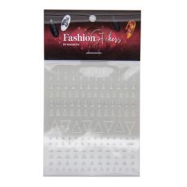 Fashion Stickers Silver - Triangle 117042