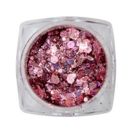 Magnetic Metal inlay Pink 118934