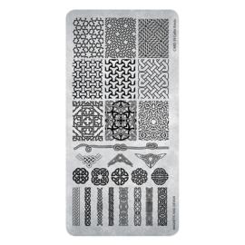 Magnetic stempel plaat  39 Celtic Knots 118642