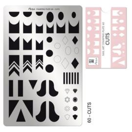 Moyra Stamping Plaat 60 Cuts