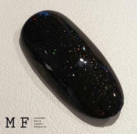 Urban Distri Choise     Merel    Zwart met een multi glitter!  Hoe trots kan je zijn! Er is gewoon een Merel Kleur in de collectie!