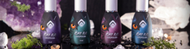 Magnetic Cat eye 4 kleuren met een glitter in een set Jade-Garnet-Star Sapphire-Amethyst