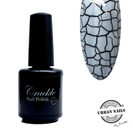 Crackle Nail Polish 01 White