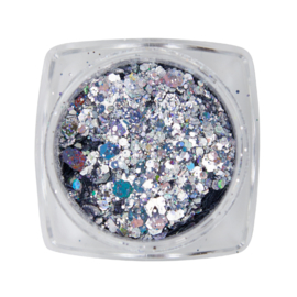 Magnetic Metal inlay Silver 118929