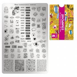 Moyra Stamping Plaat 86 Stampchat