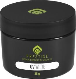Acryl poeder voor de UV-liquid  White 35 gr