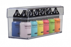 Box voor nail art verf , vijlen of nailart sticker Super handig.