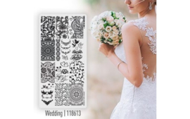 Magnetic Stamping Plate Wedding 1 pcs.