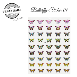 Urban Nails Butterfly Stickers 01