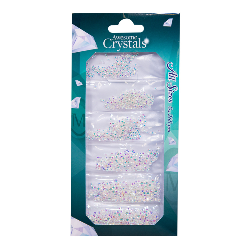 Magnetic Crystals Transparant ICE  118708   6x 288 pcs