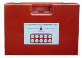 Verbandkoffer A-HACCP met wandhouder