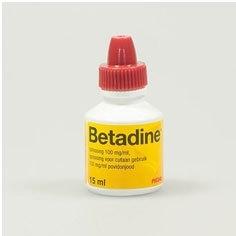Betadine oplossing 15ml