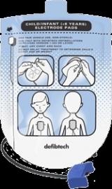 Defibtech defibrillatie-elektroden voor kinderen