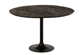 Round Dining Table – Mango wood in Black
