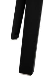 Barkruk Jeny in zwart (Set van 2)
