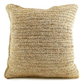 Cushion Raffia Flores