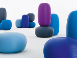 Pandora Stool in several colours