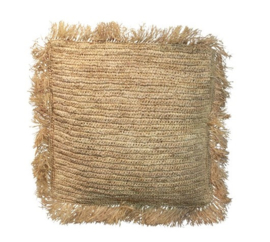 Cushion Raffia Square