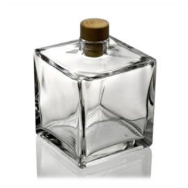 Bottle from glass (extra options)