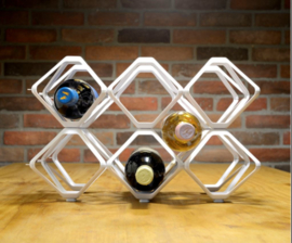 Wine Rack Vector