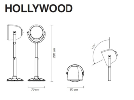Vloerlamp Hollywood